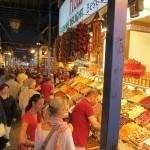 イスタンブール旧市街の市場