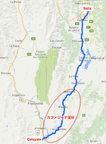 cafayate map