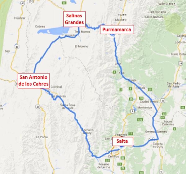 salta north 1 map