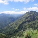 スリランカ中央高地の村エッラで山歩き