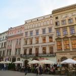 ポーランドの古都クラクフの旧市街