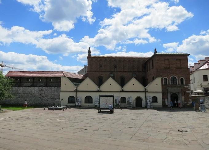 オールドシナゴーグ(現在は、ユダヤ人博物館となっています。)