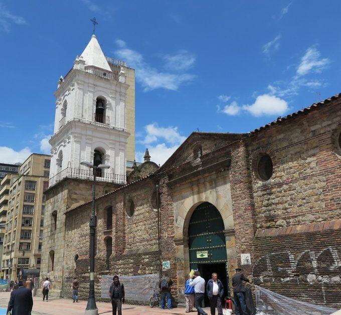 bogota sightseeing 4 church outside
