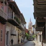コロンビアの古都 カルタヘナの旧市街