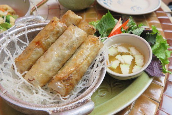 Hanoi street food tour - Hanoi spring roll