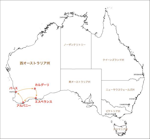 kalgoorlie 1 map