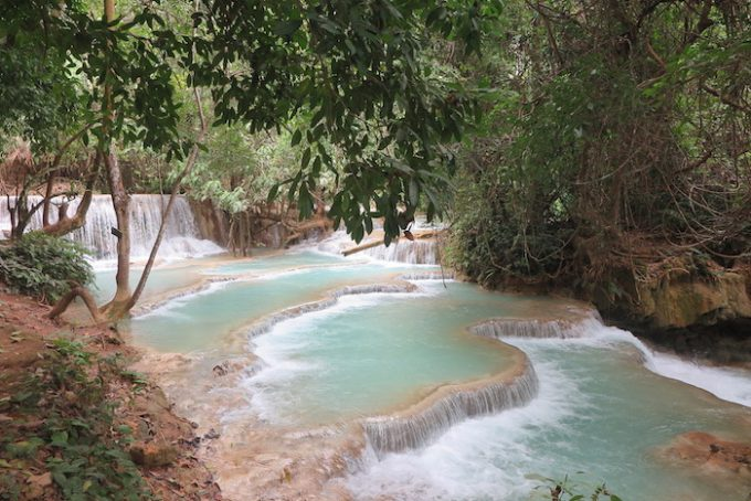 laos waterfall 10