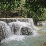 ミルキーブルーの水!クアンシーの滝