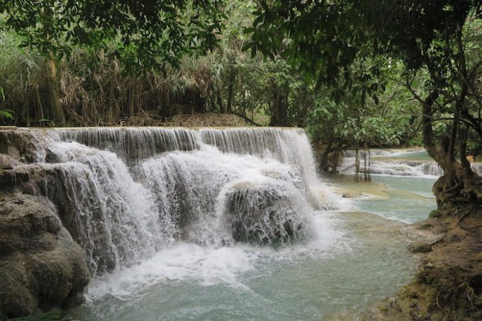 laos waterfall 12