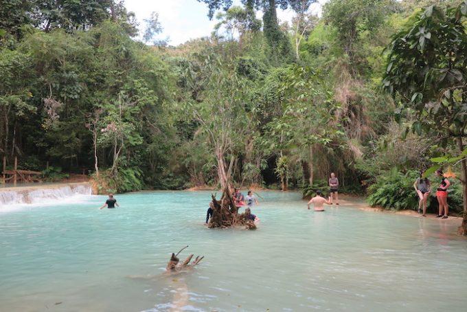 laos waterfall 3