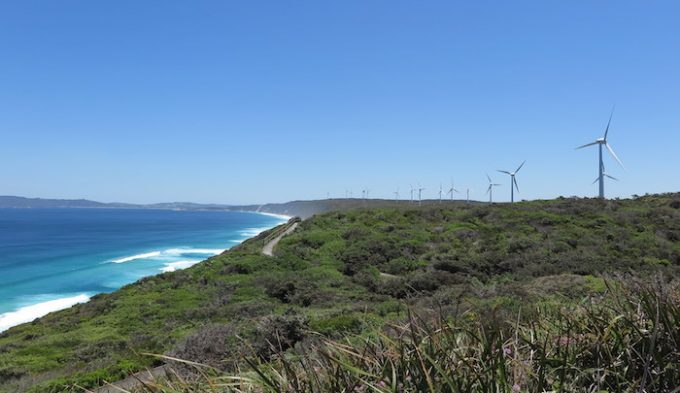 albany 6 wind farm