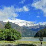 ワナカ湖とアスパイアリング山