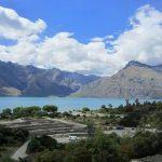 湖と山の景色 クイーンズタウン~グレノーキー
