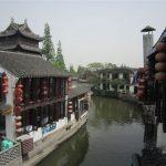 上海郊外の水郷の村 朱家角