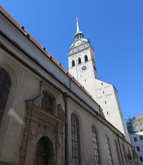 munich 4 Peterskirche