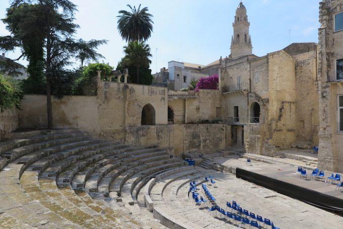 lecce 5c roman theatre